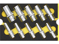 WGB - MES Modul Steckschlüssel-Einsätze, 6-kant, lange Ausführung - No. 6120