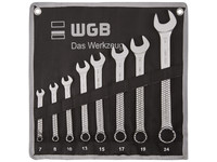 WGB - Combination Spanner Set, Ring 15° Offset - No. 230 RT