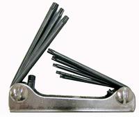 wieseman - Stiftschlüssel-Satz für Innen-TORX-Schrauben mit Sicherheitsstift - No. 313 HKH
