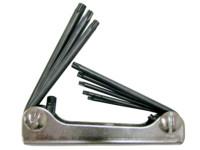 WGB - Tamper TORX®-Stiftschlüssel-Satz - No. 314 HKH